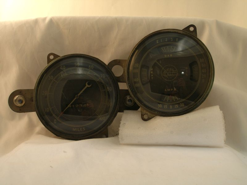 Picture of 1935 Plymouth Gauges