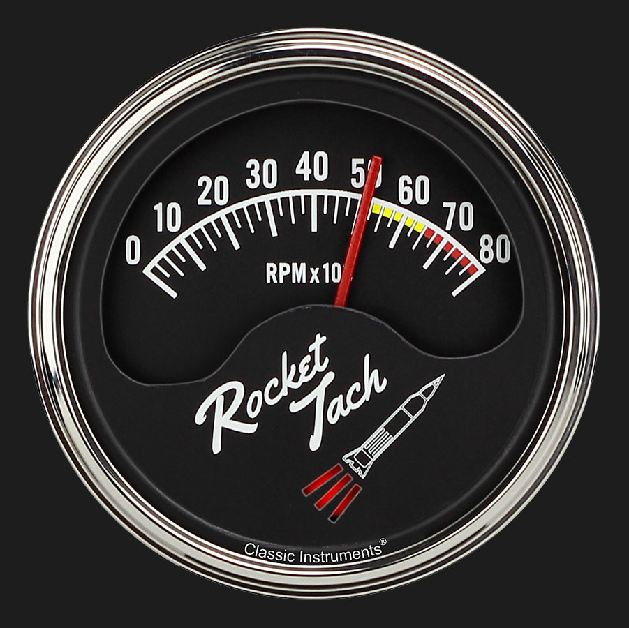 Classic Instruments Store    Rocket Tach 3 3  8 U0026quot