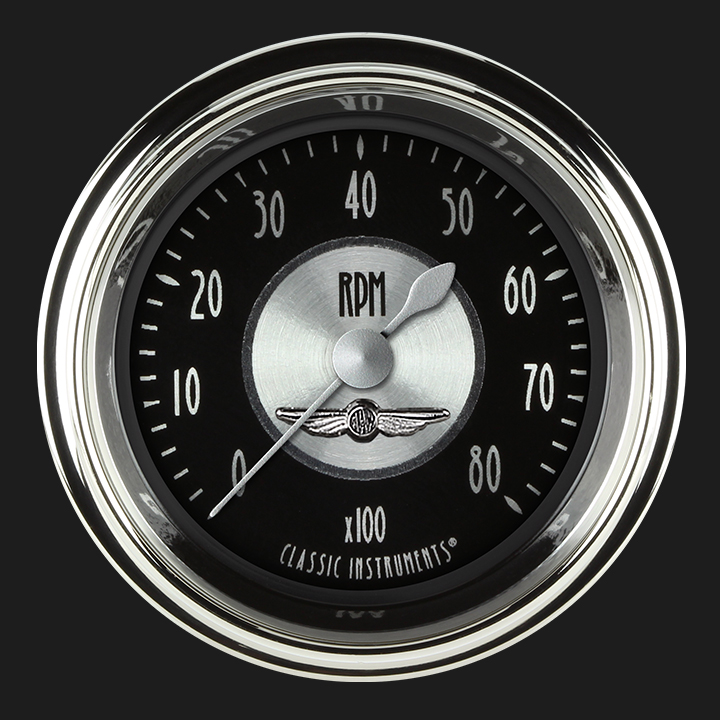 "Picture of All American Tradition 2 1/8"" Tachometer"