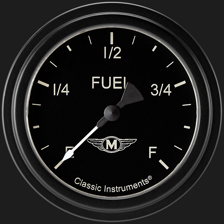 "Picture of Moal Bomber 2 5/8"" Fuel Gauge"