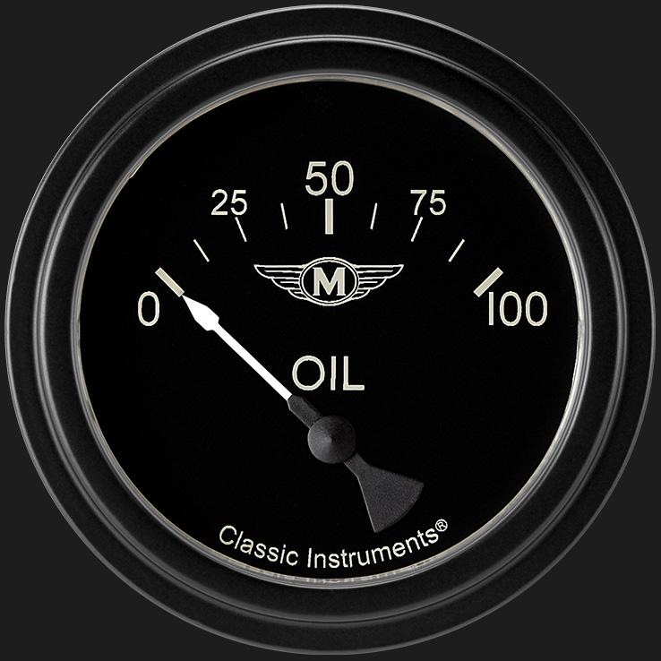 classic instruments store    moal bomber 2 5  8 u0026quot  oil