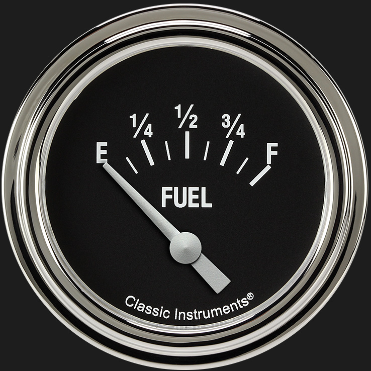 "Picture of Hot Rod 2 5/8"" Fuel Gauge"
