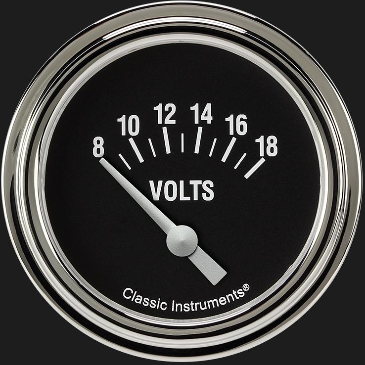 "Picture of Hot Rod 2 5/8"" Volt Gauge"