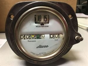 Picture of Stewart Warner Barrel Speedometer