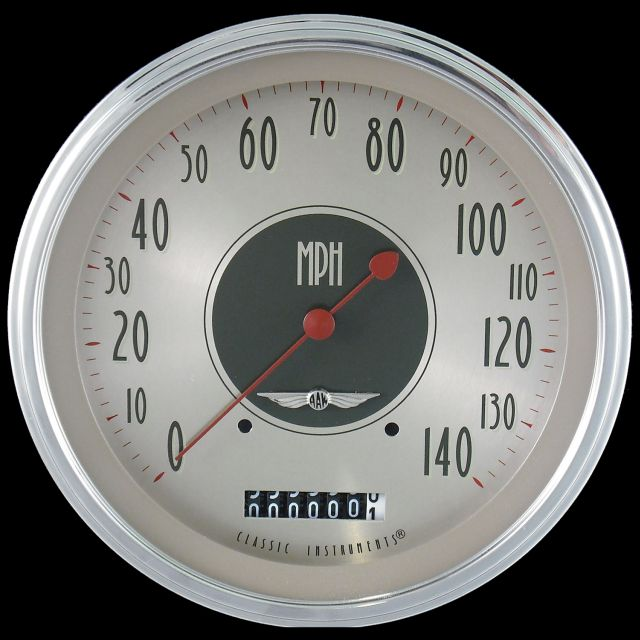 """Picture of All American Nickel 4 5/8"""" Speedometer"""