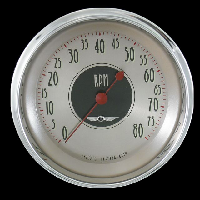 "Picture of All American Nickel 4 5/8"" Tachometer"