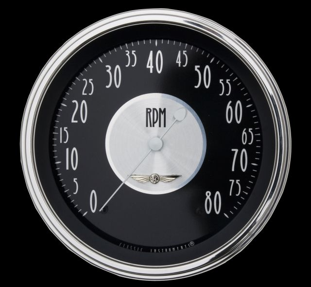 """Picture of All American Tradition 4 5/8"""" Tachometer"""