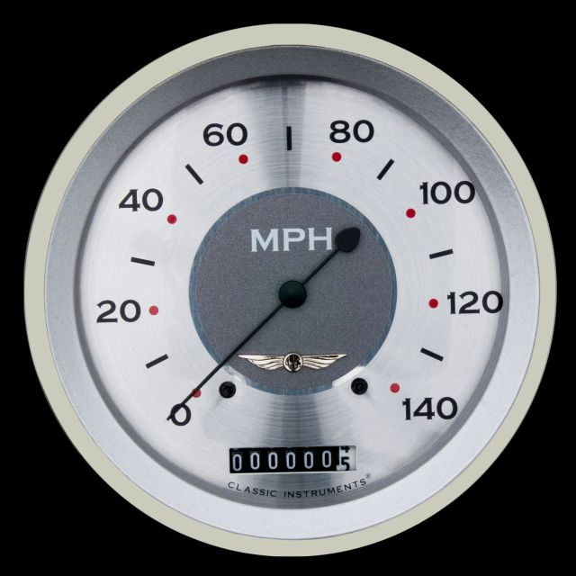 """Picture of All American 4 5/8"""" Speedometer"""
