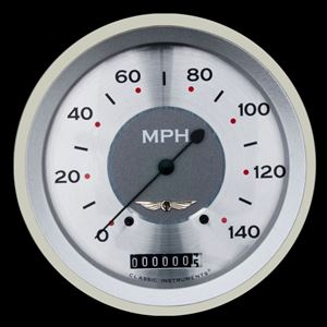 "Picture of All American 4 5/8"" Speedometer"