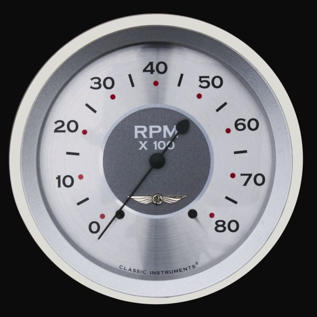 "Picture of All American 4 5/8"" Tachometer"