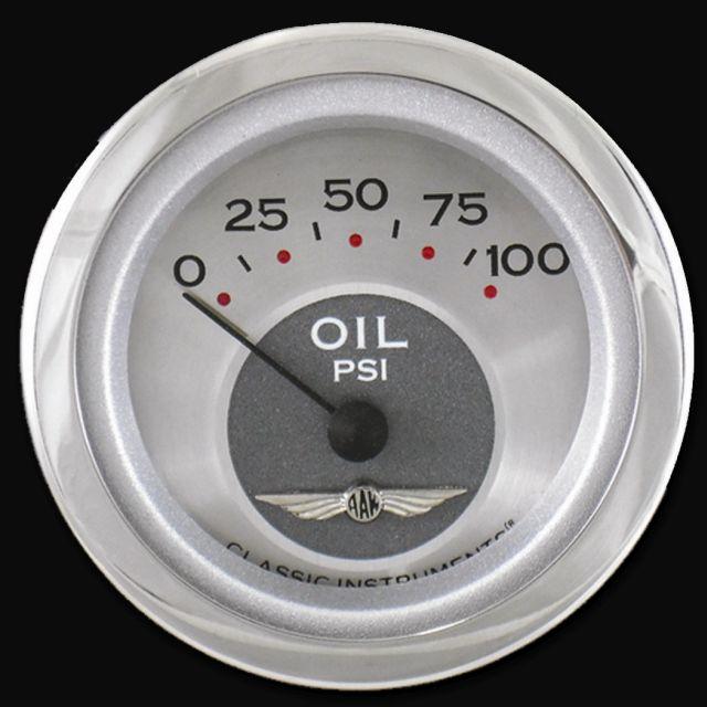 "Picture of All American 2 1/8"" Oil Pressure"