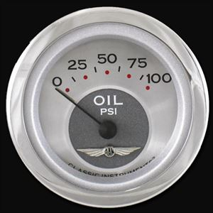 "Picture of All American 2 1/8"" Oil Pressure"