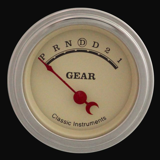"""Picture of Vintage 2 1/8"""" Gear Indicator"""