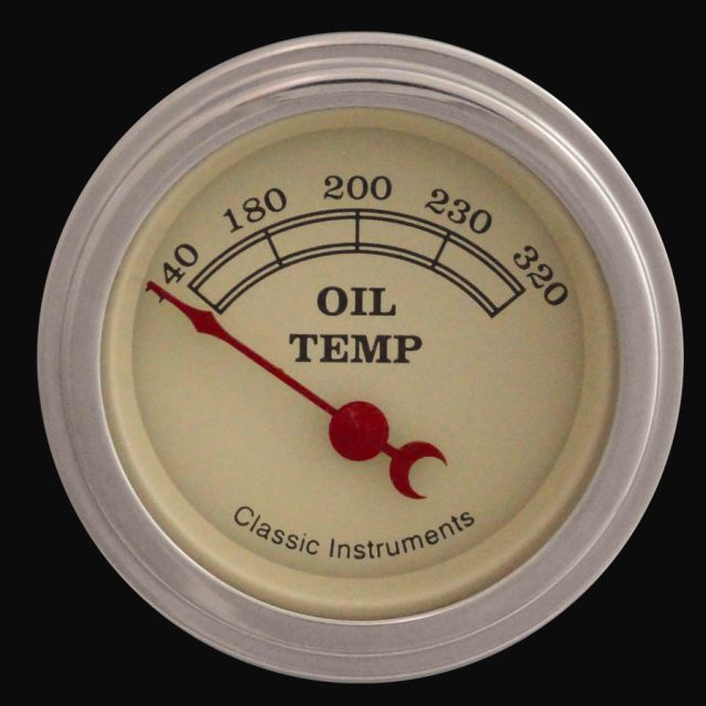 """Picture of Vintage 2 1/8"""" Oil Temp"""