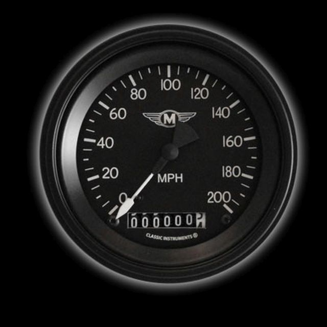 "Picture of Moal Bomber 3 3/8"" Speedometer"