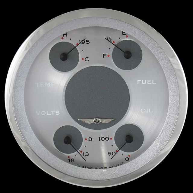 """Picture of All American 4 5/8"""" Quad Gauge"""