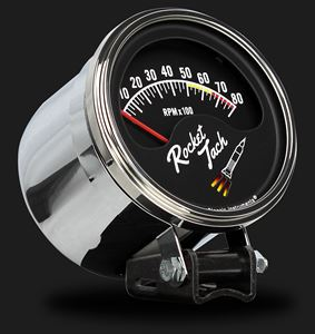 Picture of Rocket Tach 3 3/8""