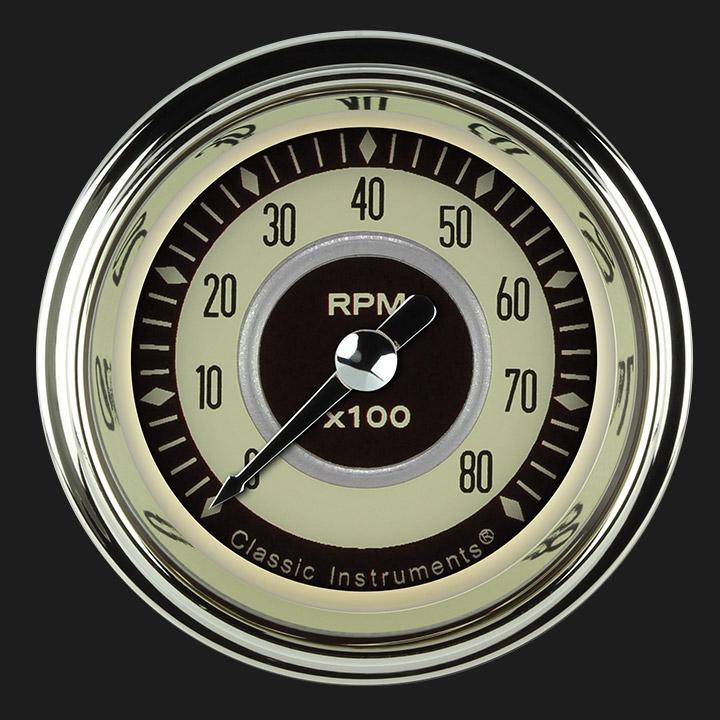 """Picture of Nostalgia VT 2 1/8"""" Tachometer"""
