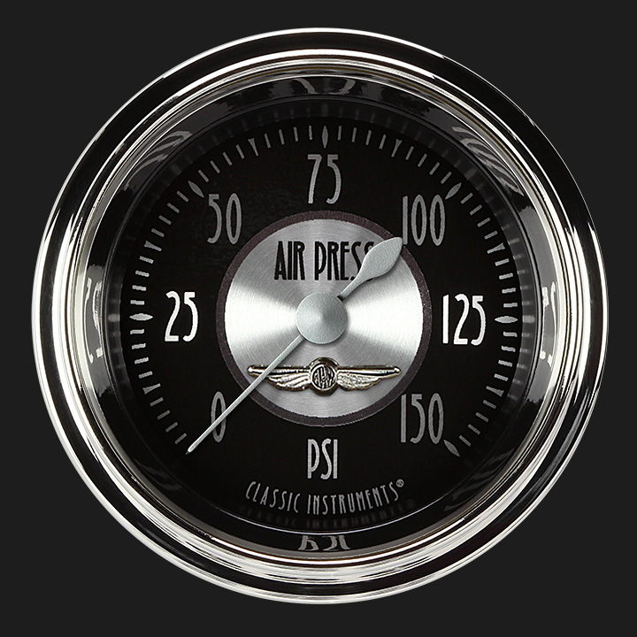 """Picture of All American Tradition 2 1/8"""" Air Pressure Gauge"""