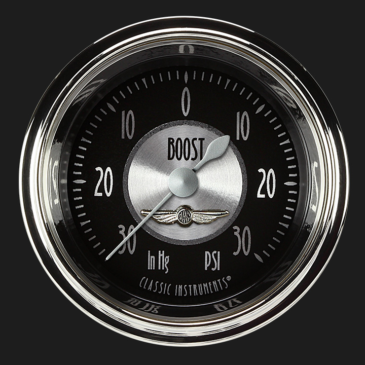 """Picture of All American Tradition 2 1/8"""" Boost/Vac Gauge"""