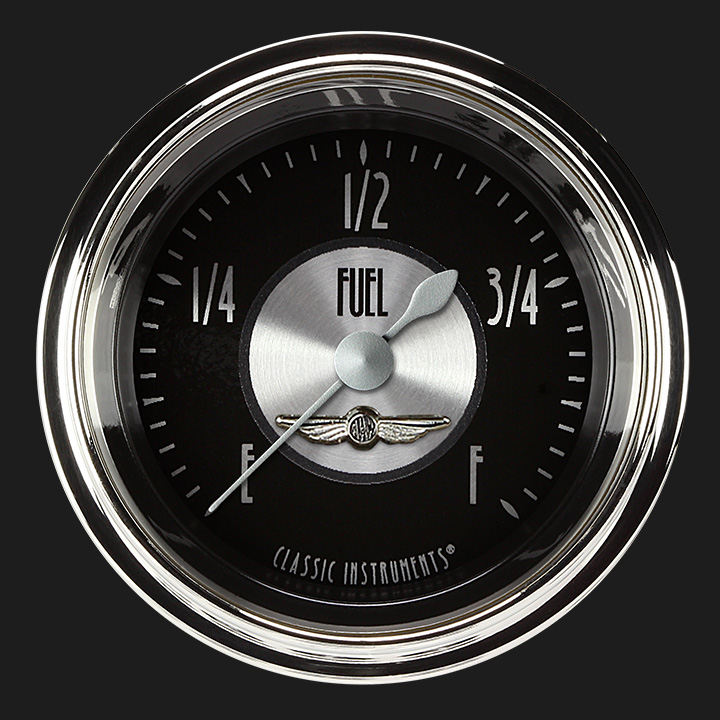 """Picture of All American Tradition 2 1/8"""" Fuel Gauge"""