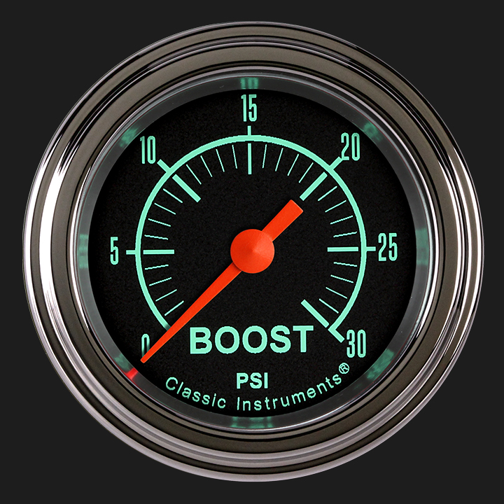 "Picture of G/Stock 2 1/8"" Boost Gauge, 30 psi"