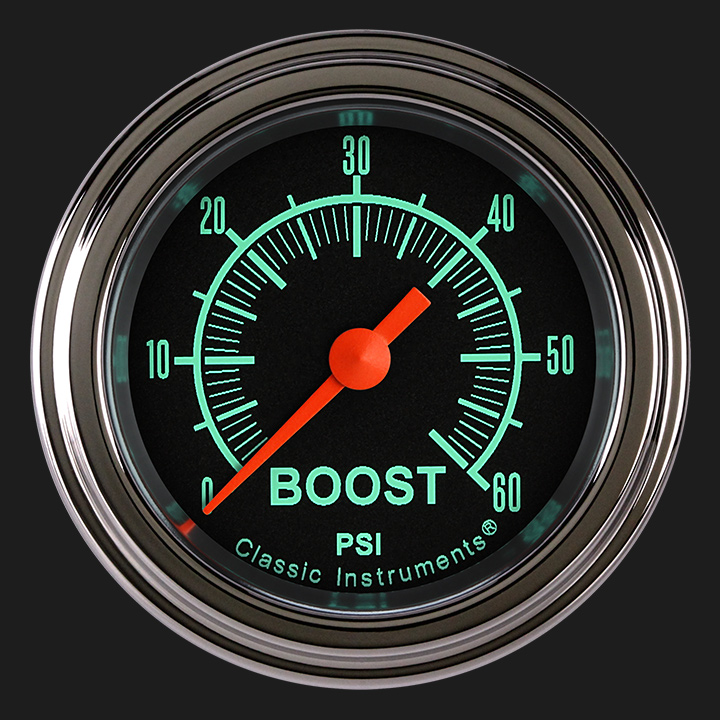 "Picture of G/Stock 2 1/8"" Boost Gauge, 60 psi"