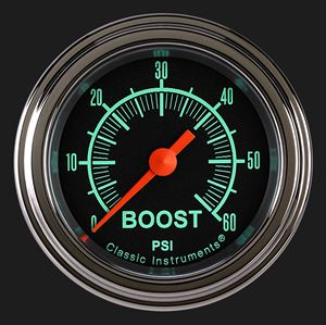 """Picture of G/Stock 2 1/8"""" Boost Gauge, 60 psi"""