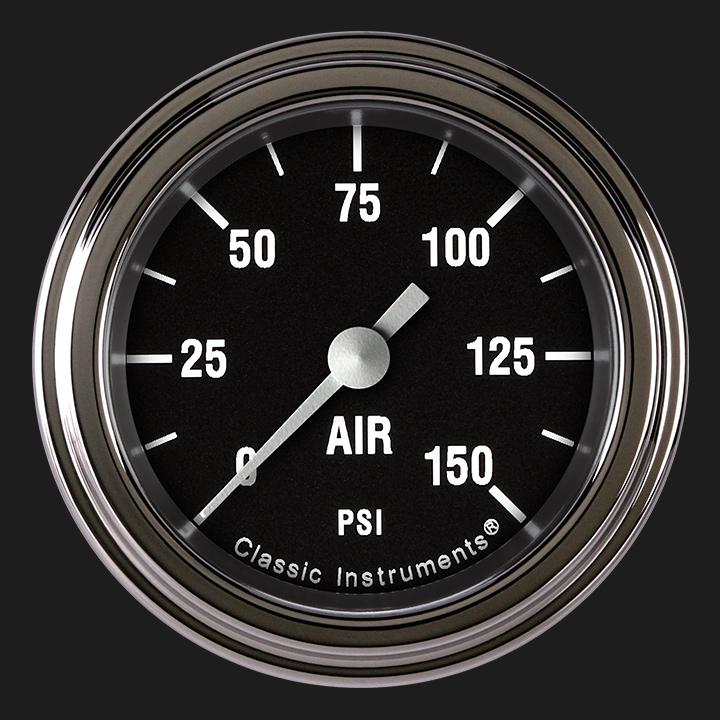 "Picture of Hot Rod 2 1/8"" Air Pressure Gauge"