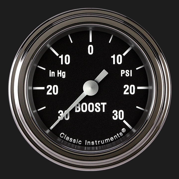 """Picture of Hot Rod 2 1/8"""" Boost/Vac Gauge"""
