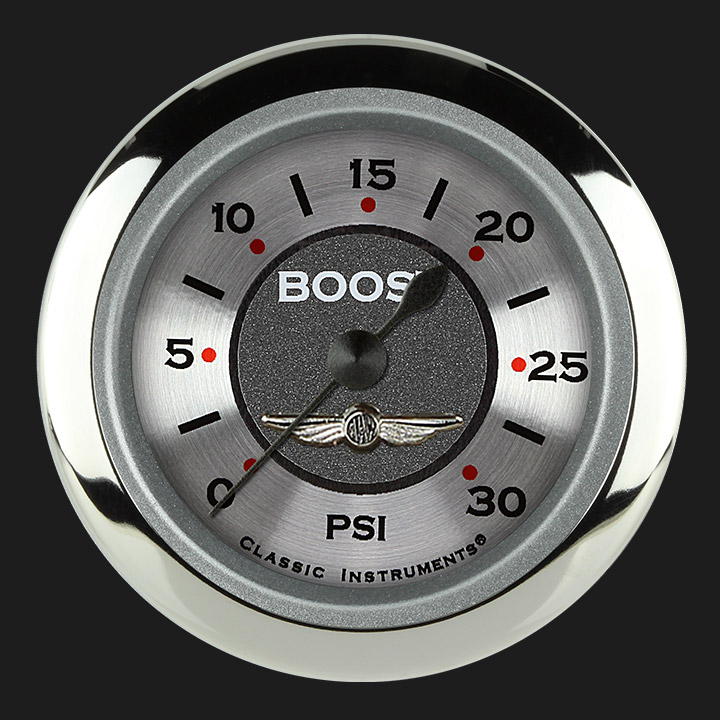"Picture of All American 2 1/8"" Boost Gauge, 30 psi"