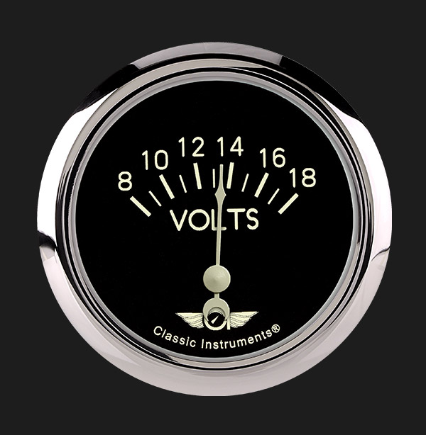 "Picture of Classic Series 2 5/8"" Volt Gauge"