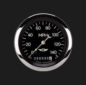 "Picture of Classic Series 3 3/8"" Speedometer"