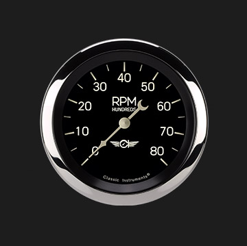 "Picture of Classic Series 3 3/8"" Tachometer"