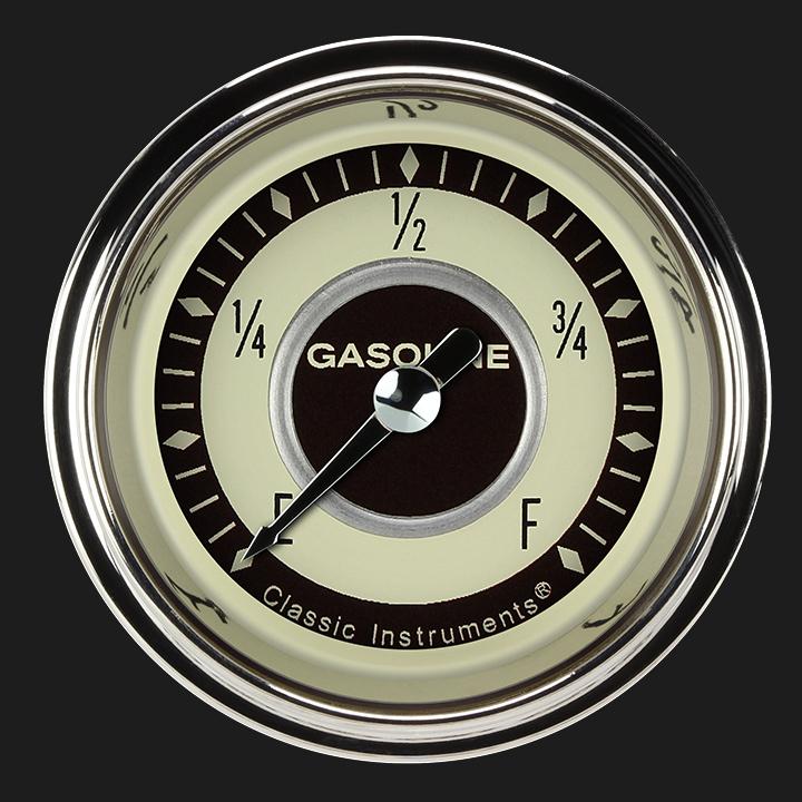 """Picture of Nostalgia VT 2 1/8"""" Fuel Gauge"""