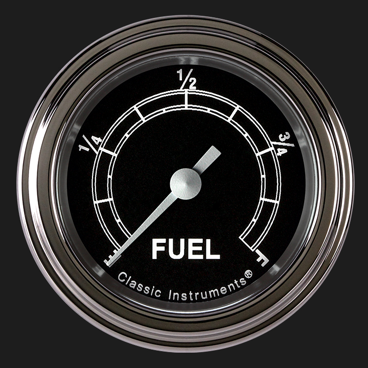 """Picture of Traditional 2 1/8"""" Fuel Gauge"""