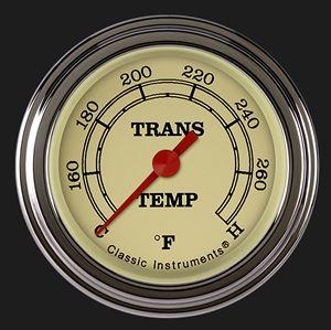 "Picture of Vintage 2 1/8"" Transmission Temperature Gauge"