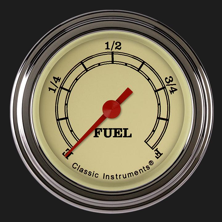 "Picture of Vintage 2 1/8"" Fuel Gauge"
