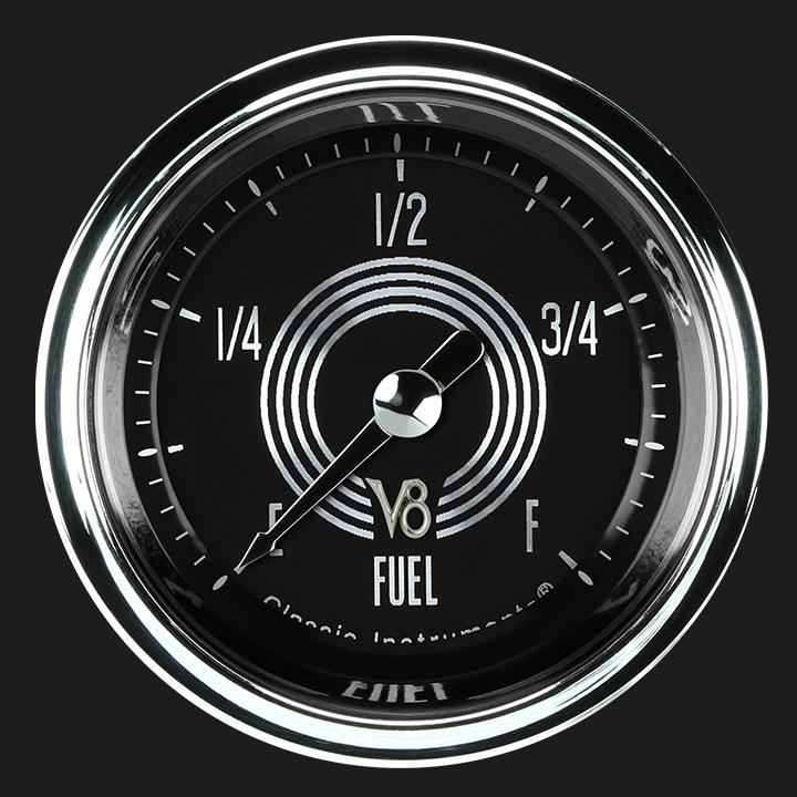 """Picture of V8 Speedster 2 1/8"""" Fuel Gauge"""