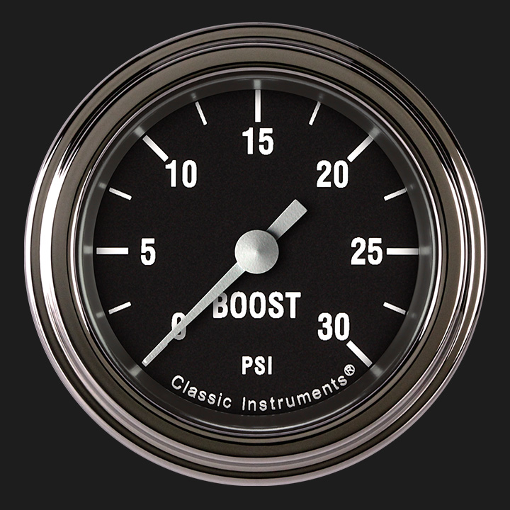 """Picture of Hot Rod 2 1/8"""" Boost Gauge, 30 psi"""