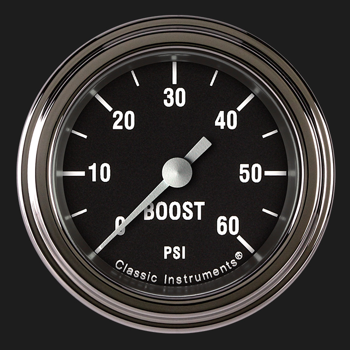 "Picture of Hot Rod 2 1/8"" Boost Gauge, 60 psi"