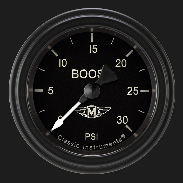 """Picture of Moal Bomber 2 1/8"""" Boost Gauge, 30 psi"""