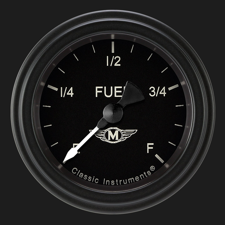 """Picture of Moal Bomber 2 1/8"""" Fuel Gauge"""