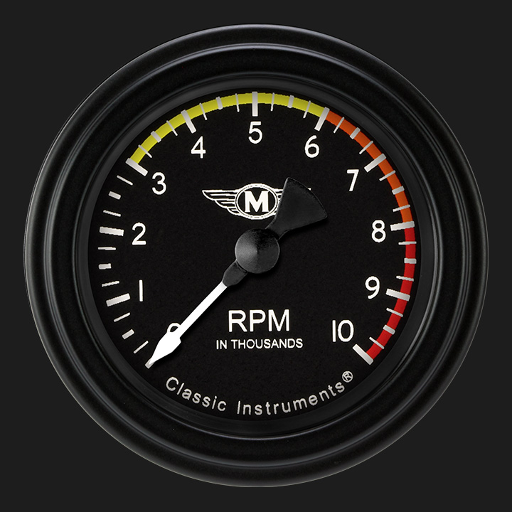 """Picture of Moal Bomber 2 1/8"""" Tachometer"""