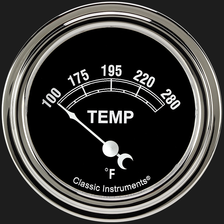 "Picture of Traditional 2 5/8"" Water Temperature Gauge"