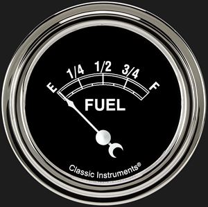 "Picture of Traditional 2 5/8"" Fuel Gauge"