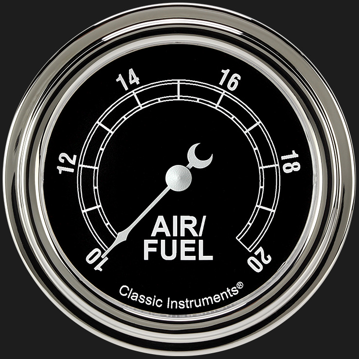 """Picture of Traditional 2 5/8"""" Air Fuel Ratio Gauge"""