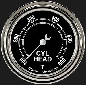 """Picture of Traditional 2 5/8"""" Cylinder Head Temp. Gauge"""