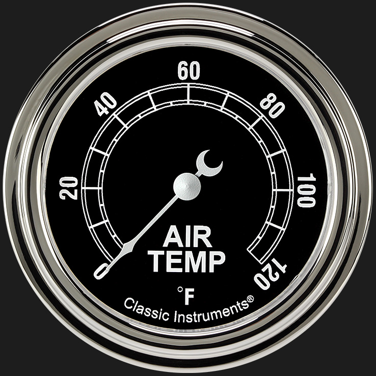 """Picture of Traditional 2 5/8"""" Outside Air Temp Gauge"""