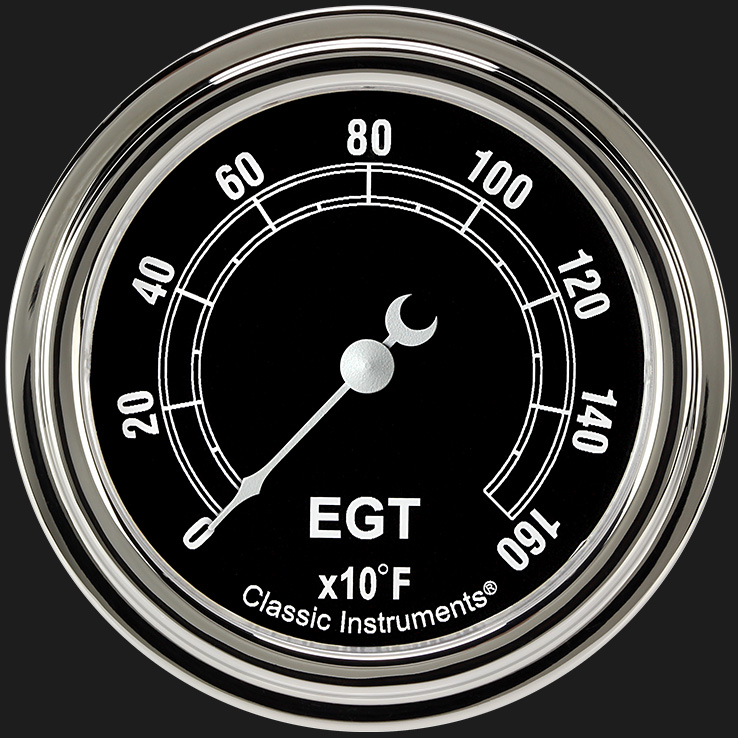 """Picture of Traditional 2 5/8"""" Exhaust Gas Temp. Gauge"""